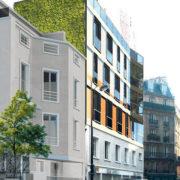 Surélévation - rue Sablière - Zoom Factor Architectes - JDD