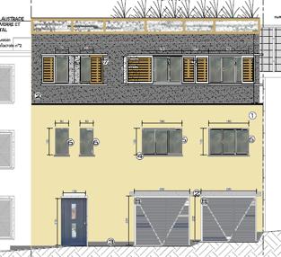 WSP-Delacroix - plan façade
